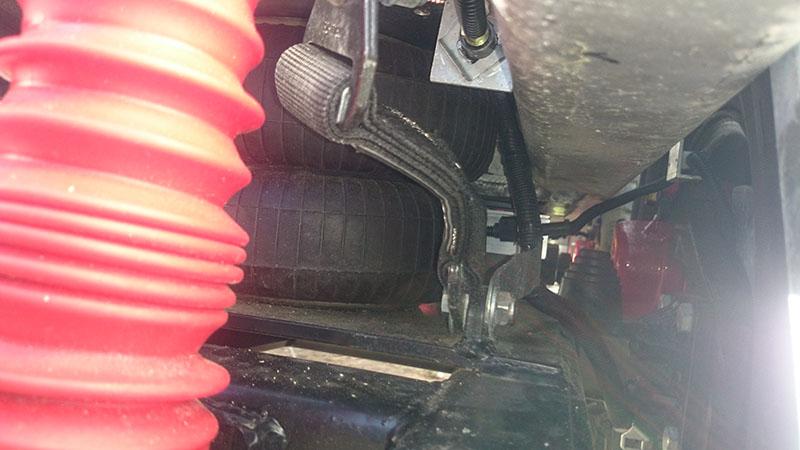 Suspension Normal Height Inside Wheel