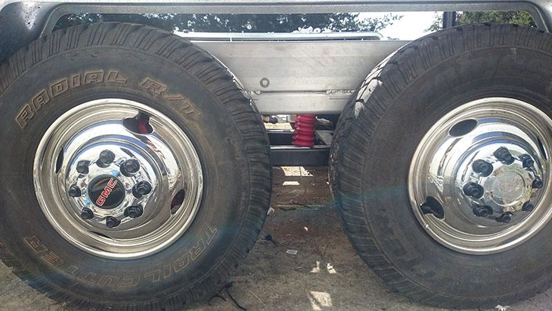 Suspension Wheel Normal Height