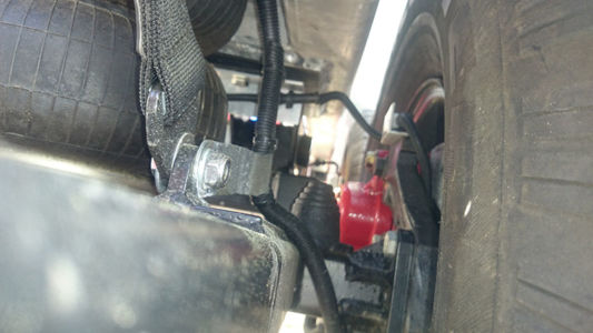Suspension Inside Wheel Max Height