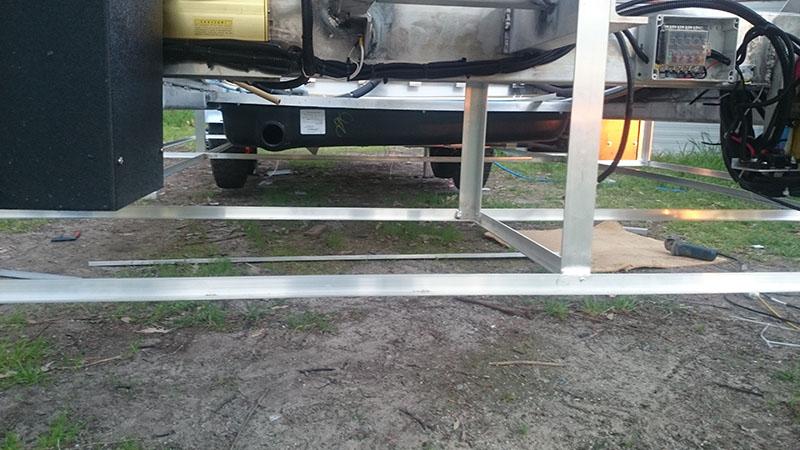Underfloor Frame Below