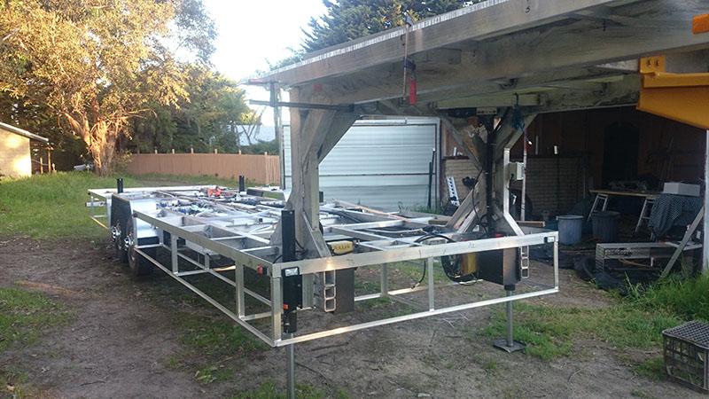 Underfloor Frame Finished