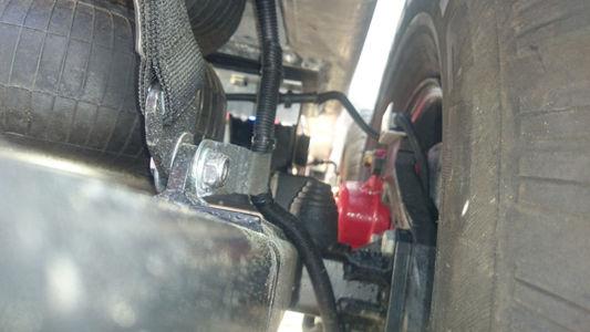 Suspension Inside Wheel Max Height