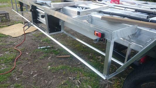 Underfloor Frame Lfront Welding