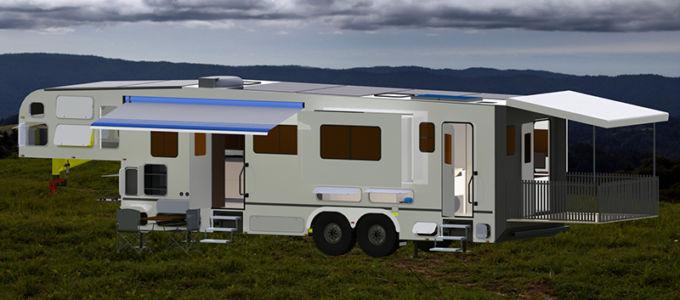 van_with_deck_outdoors